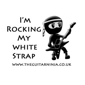 White strap - Guitar courses