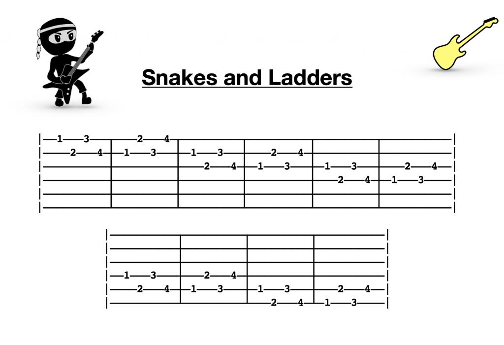 Free Guitar Lesson - Finger Twister