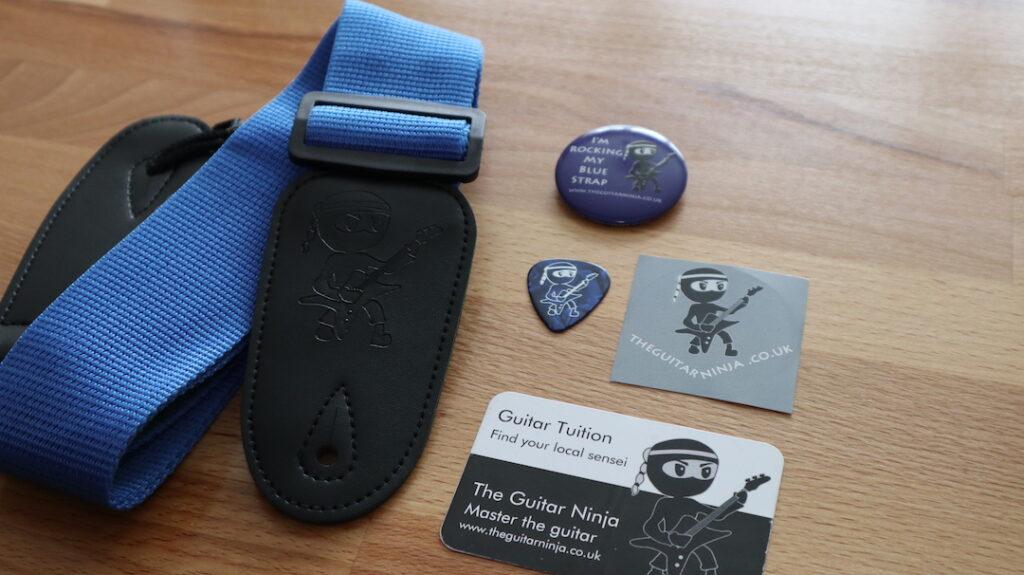Guitar Grading - Blue Strap Pack