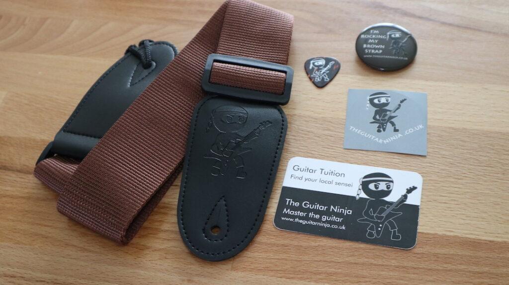 Guitar Grading - Brown Strap Pack