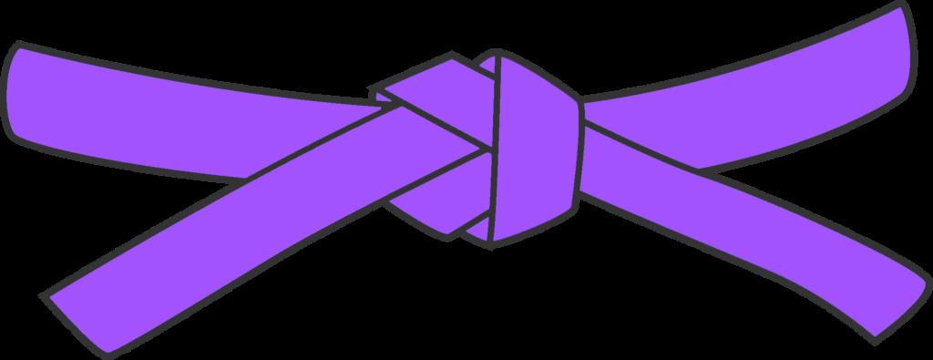Guitar Grading - Purple Strap