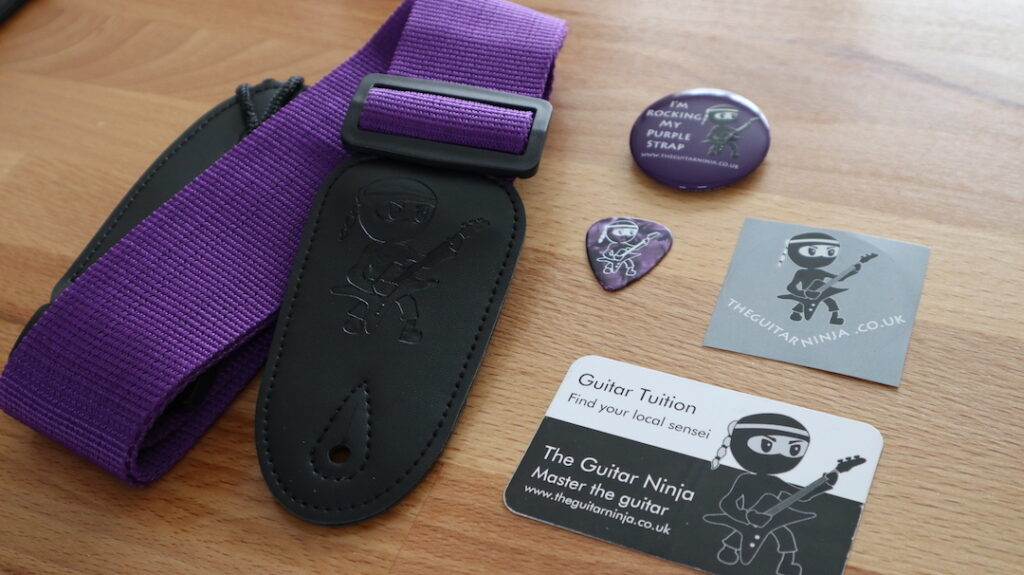 Guitar Grading - Purple Strap Pack